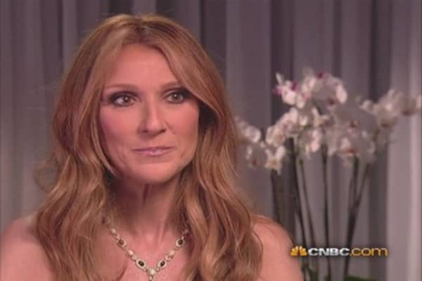 Celine Dion: Las Vegas is growing and 'thinking family'