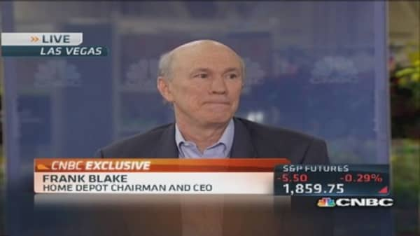 Home Depot CEO looks to grow online business