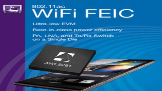 ANADIGICS Powers Huawei Ascend P6S