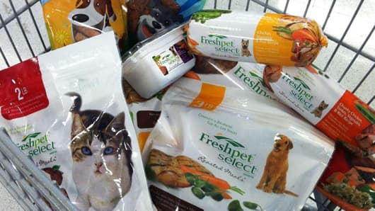 FreshPet pet food.