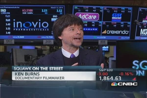 Ken Burns launches own iPad app