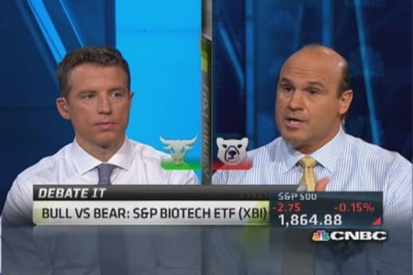 XBI is 'best way to biotech': Trader