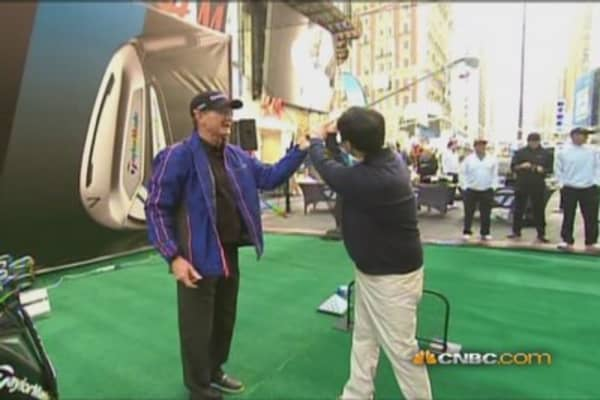 Tigers' former coach fixes Chu's swing