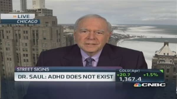 Doctor concerned about ADHD misdiagnosis