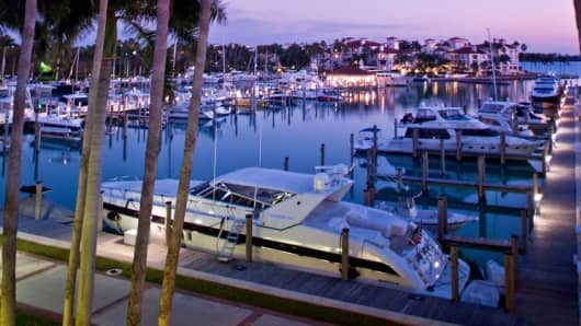 Miami's Fisher Island Marina