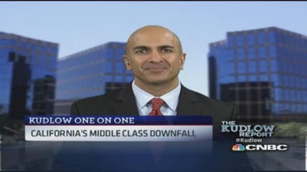 Oil and gas biggest job potential in California: Kashkari