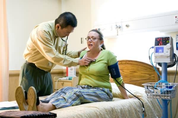 Doctor with patient, Sime Darby Medical Center Subang Jaya - Kuala Lumpur, Malaysia