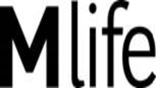 M life logo