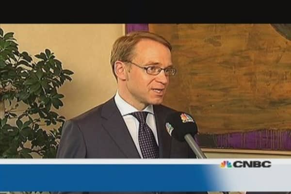 Germany faces 'considerable' challenges: Weidmann