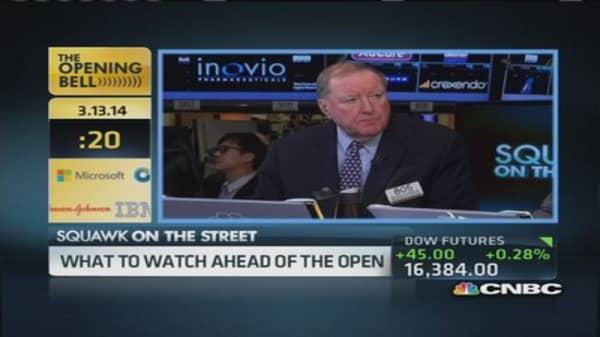 Art Cashin: Cautions in the market