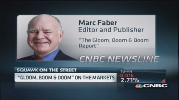 Marc Faber: Not a good time to buy US equities