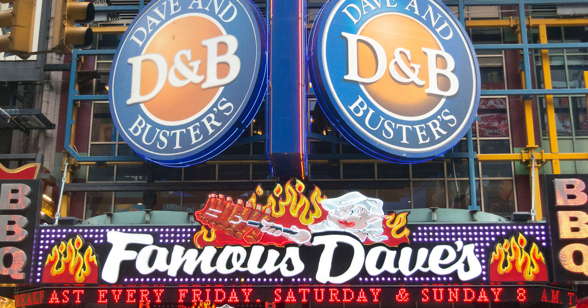 Dave and busters ipo