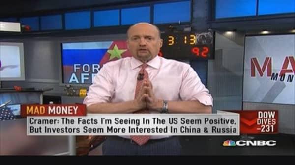No hurry to buy today's selloff: Cramer
