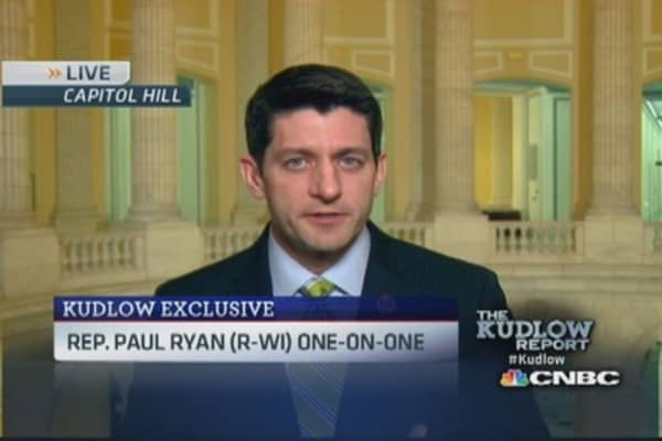 Rep. Ryan: GOP needs growth agenda and plan