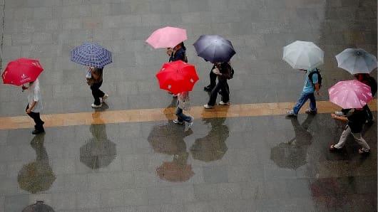 Premium shopping rain