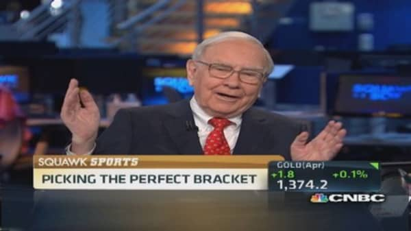 Picking the perfect bracket for $1 billion