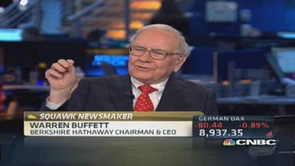 Warren Buffett: Wells Fargo & U.S. Bank in very good shape