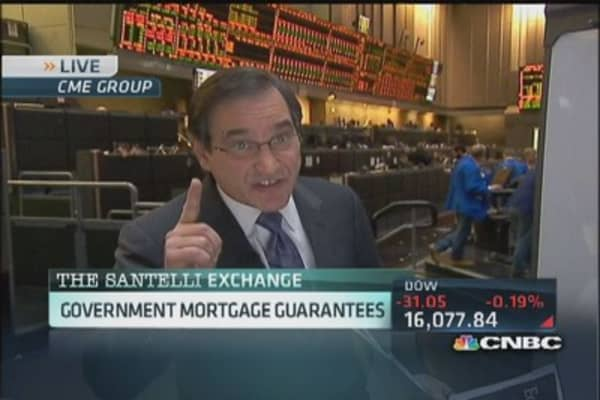 Santelli Exchange: All credit is debt