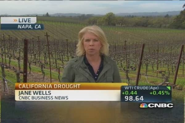 Calif. drought impacting vine & wine