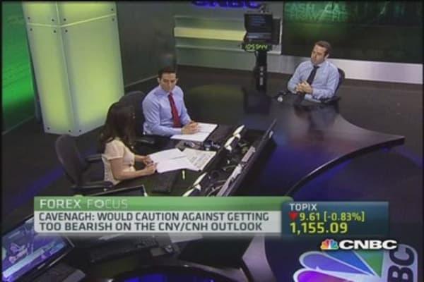 USD/CNH vulnerable to upside pressure: Westpac