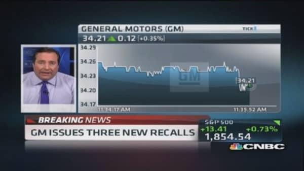 General Motors announces 3 new recalls