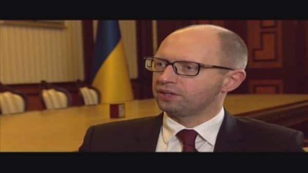 'What's up with this world?': Ukraine PM
