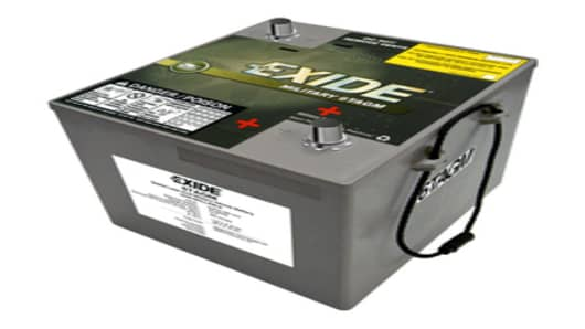 Exide Military 6TAGM Battery