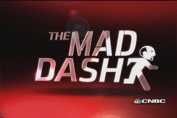 Cramer's Mad Dash: Heavy day for KORS