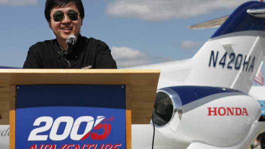Michimasa Fujino, president and CEO of Honda Aircraft Company.