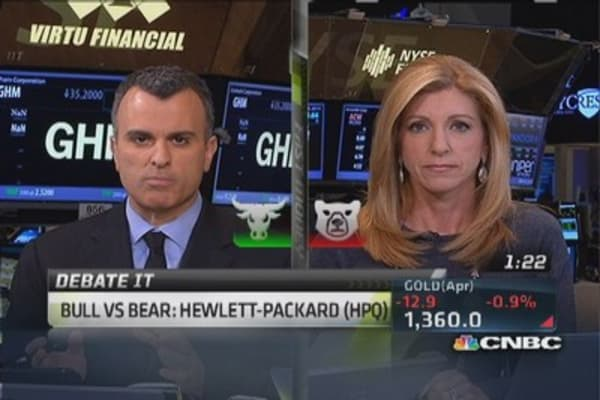 Growth coming from Hewlett-Packard: Trader