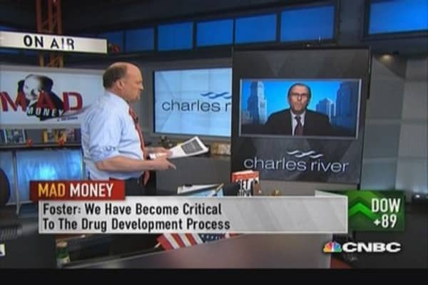 Charles River CEO: Critical to drug development process