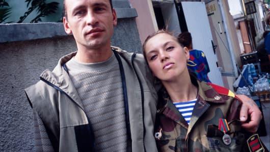 A Trans-Dniestrian soldier