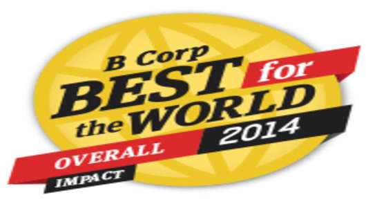 B Corp Best for the World 2014 Logo