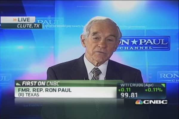 Ron Paul: Half of US economy is socialized