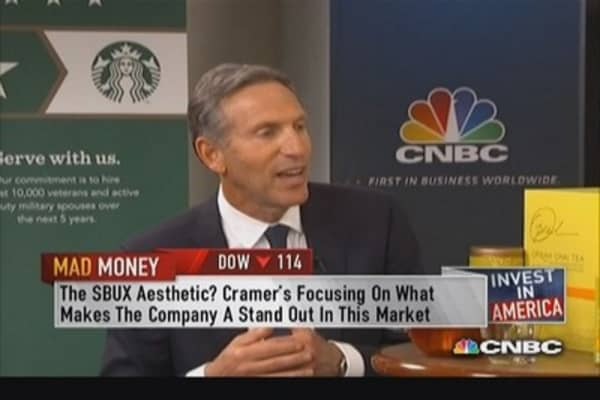 Starbucks CEO: Tea a $90 billion opportunity