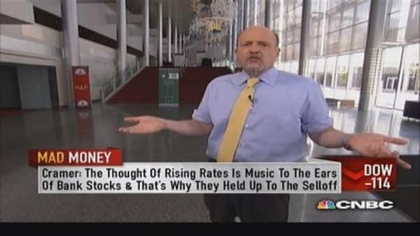 When profits grow stocks go higher: Cramer