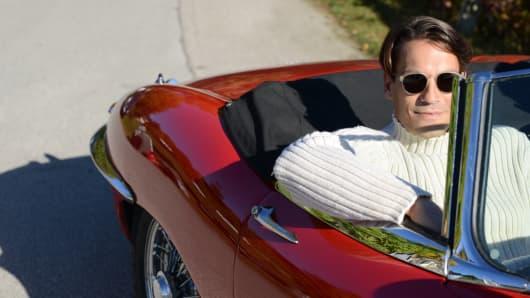 Premium man sports car