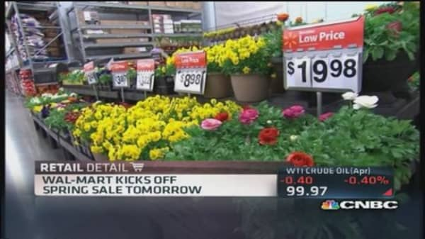 Retailers hope spring fever will heat up sales