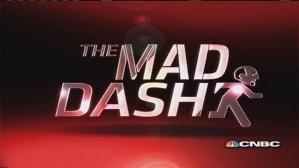 Cramer's Mad Dash: 3D downer