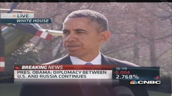 Pres. Obama sanctions 'key' Russian sectors