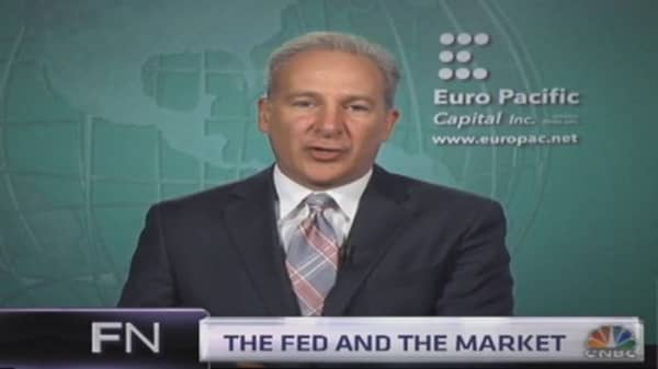Peter Schiff: I hate US stocks, but I'll never short them