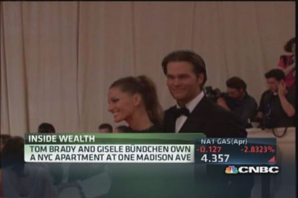 Tom & Gisele's $50 million chateau