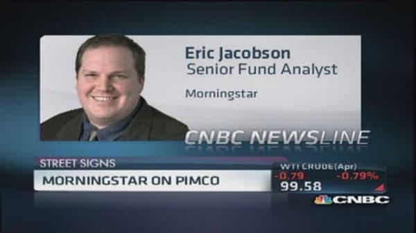 Morningstar's view on Pimco's total return fund