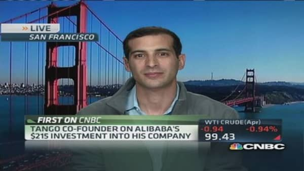 Tango co-founder on Alibaba deal