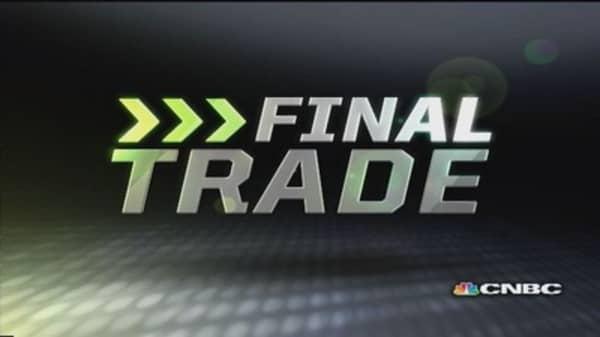 Fast Money Final Trade: UA, ELX, MS, ZION