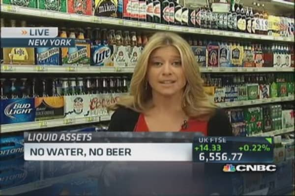 Water shortage threatens beer supply