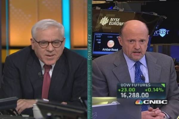 Cramer calls out private equity