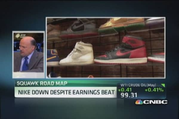 Cramer: Nike quarter beautiful