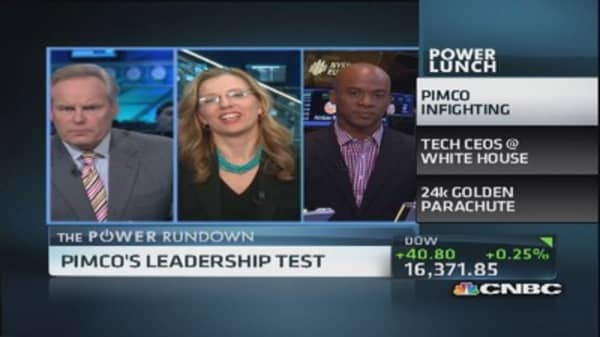 Power Rundown: More tension for Pimco