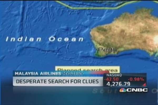 Desperate search for Malaysia Flight 370